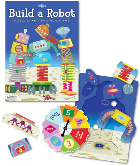 Teach Through Games: Build A Robot