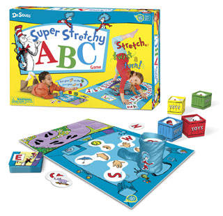 Teach Through Games: Dr. Seuss Super Stretchy ABC Game