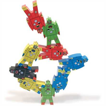 Teach Through Toys: Vilac Stacking Robots