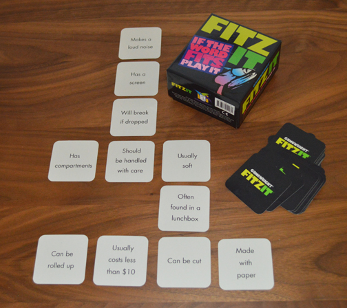 Teach Through Games: Fitz It by Gamewright