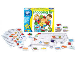 Teach Through Games: Shopping List