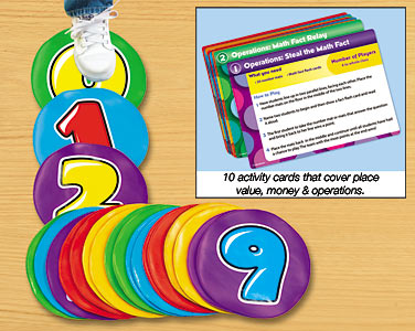 Teach Through Toys: Move & Learn Math Activity Mats