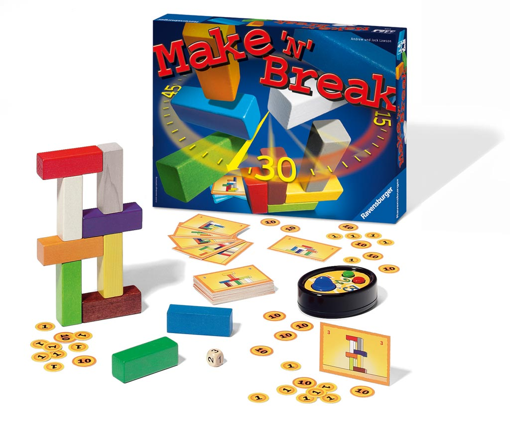 Teach Through Games: Make 'N' Break