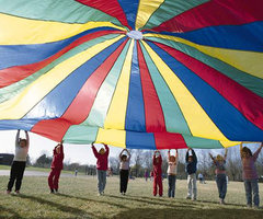 Teach Through Toys: Parachutes