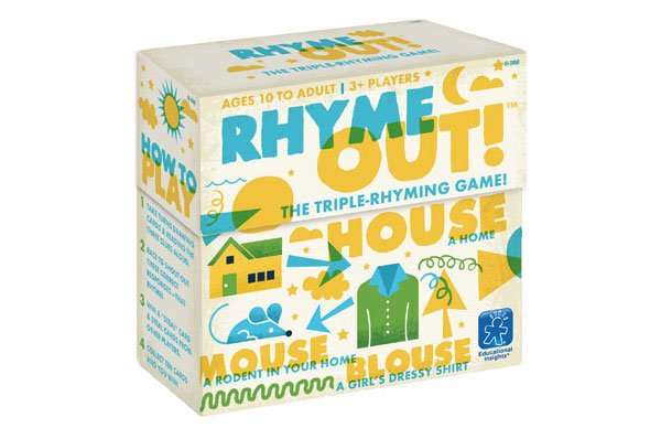 Teach Through Games: Rhyme Out!