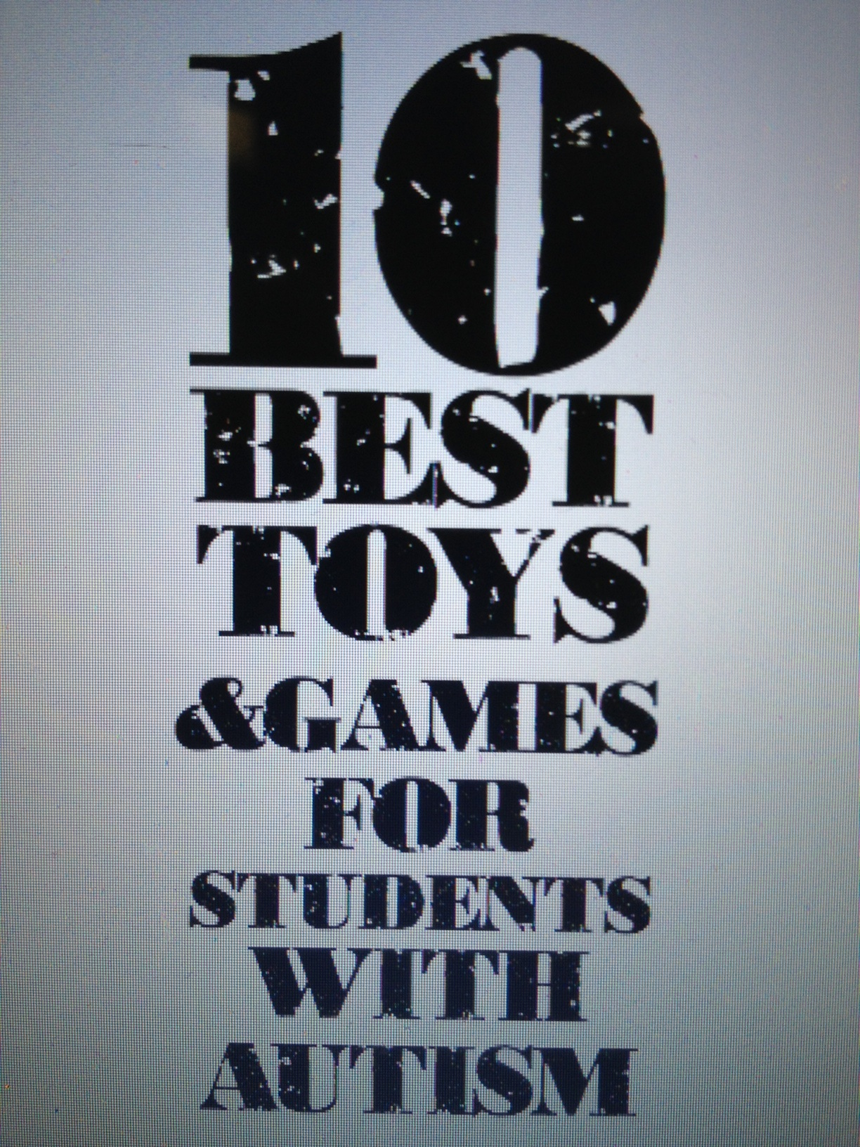 Best Games & Toys for Early Learners with Autism