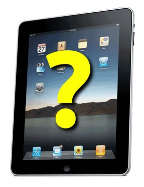 The single most important question to ask before using the iPad with a student