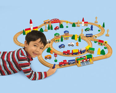 Teach Through Toys: Trains
