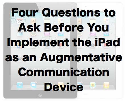 iPads & Communication