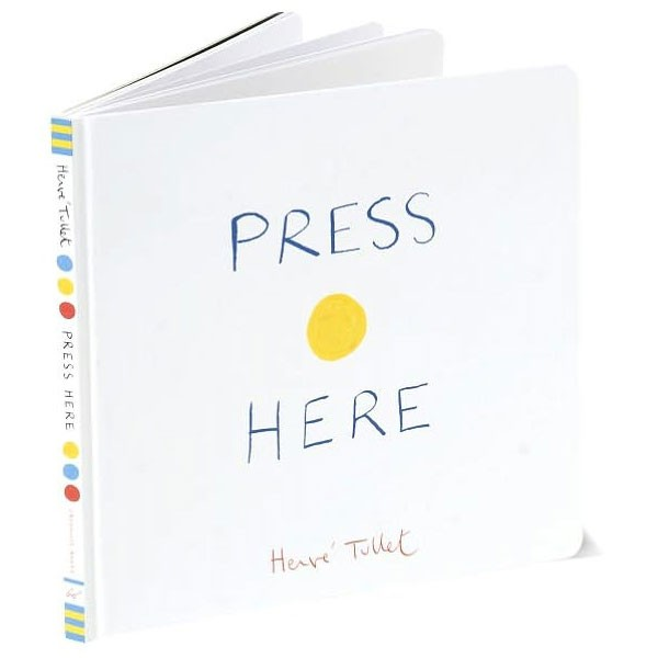 Teach Through Books: Press Here by Herve Tullet
