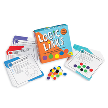 Teach Through Games: Logic Links Puzzle Box by MindWare