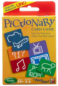 Teach Through Games: Pictionary Card Game