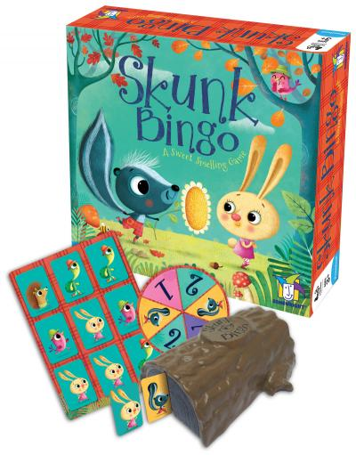 Teach Through Games: Skunk Bingo by Gamewright