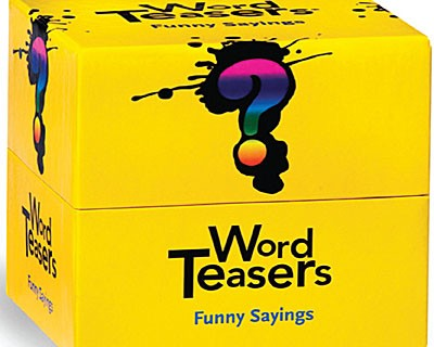 Idioms Week Day 3: Word Teasers – Funny Sayings