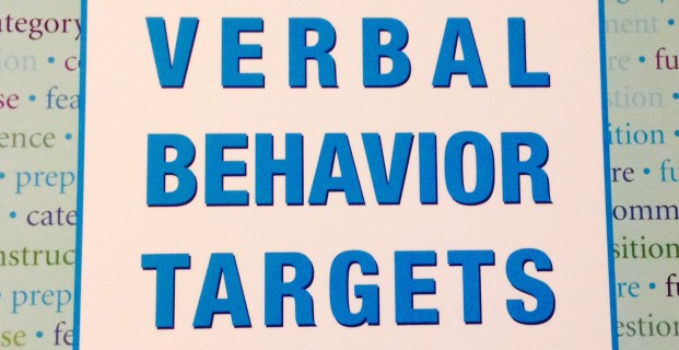 ABA Bookshelf: Verbal Behavior Targets by Diana Luckevich, PhD
