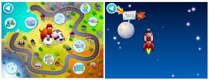 Choose where to go on the map, or discover games by traveling around within the app.
