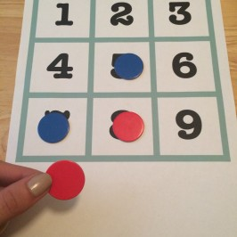 Quick DIY Math Game: Fifteen