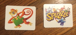 For some learners, I introduce the game without the Monkey and Spuzzle cards to simplify the game, then add those cards in later.