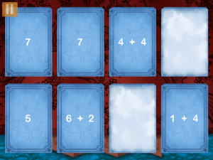 If your learner is unable to make a match, cards are slowly removed from the field until a match is made.