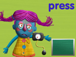 Tiggly Doctor is a fun and silly app that lets learners practice phonics skills while helping sick patients.