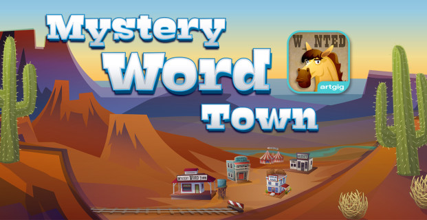 Teach Through Apps: Mystery Word Town